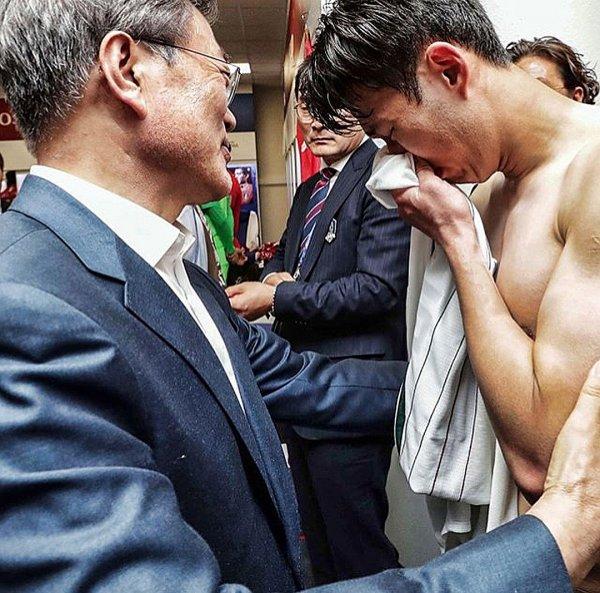 Капитан Южной Кореи расплакался после проигрыша в Ростове