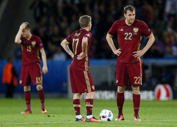 Сборная России показала подготовку перед матчем с Хорватией